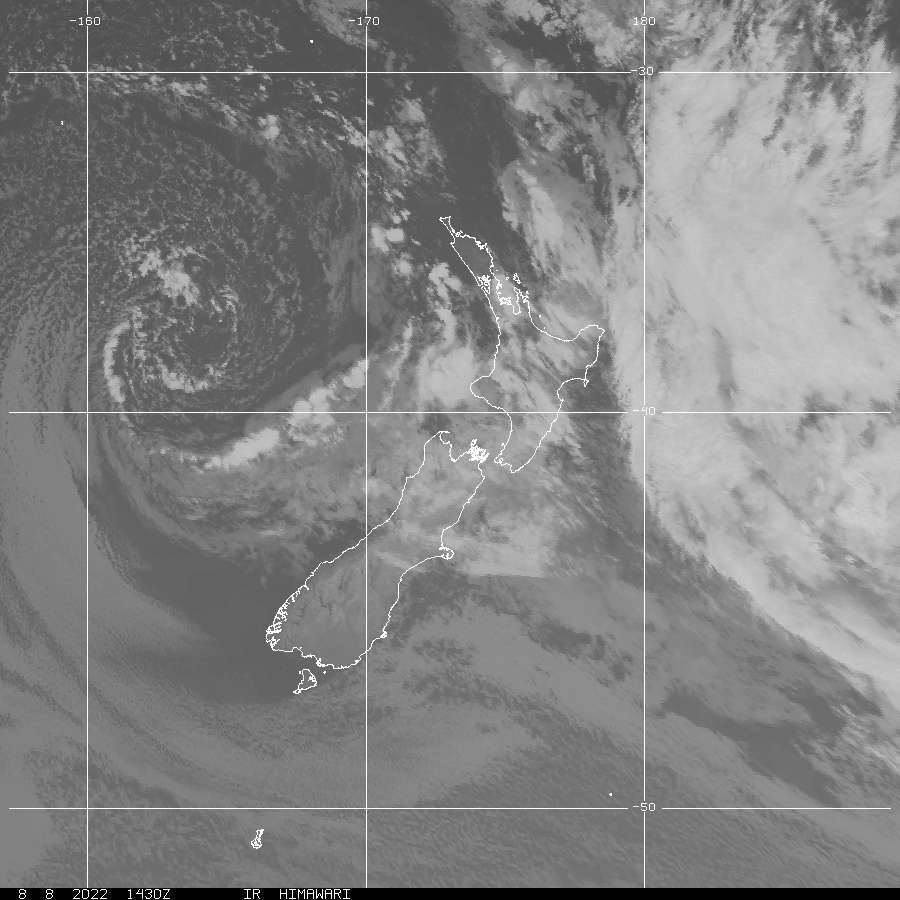 New Zealand Visible Satellite