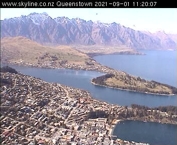 Iconic view of Queenstown